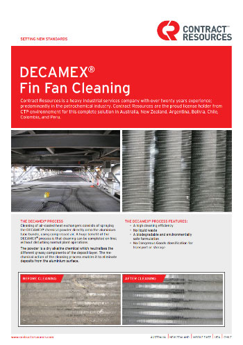Decamex Fin Fan Cleaning Contract Resources