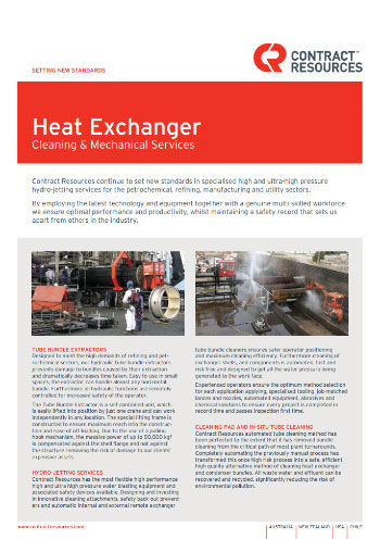 Heat Exchanger Brochure