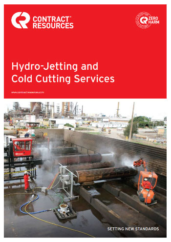 Hydro-Jetting and Cold Cutting Brochure