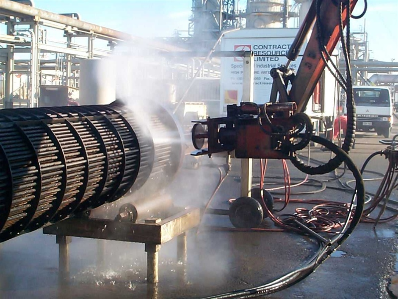Hydro Jetting Amp Cold Cutting Services Contract Resources