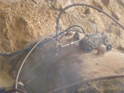 Cold Cutting of Underground Fuel Tank