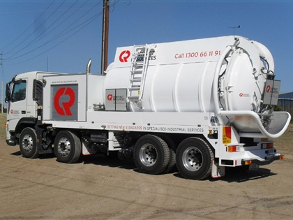Another New Vacuum Truck Completed in Adelaide